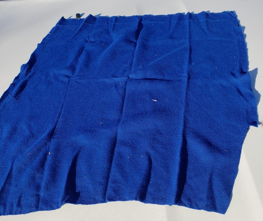 Blue Wool Background
