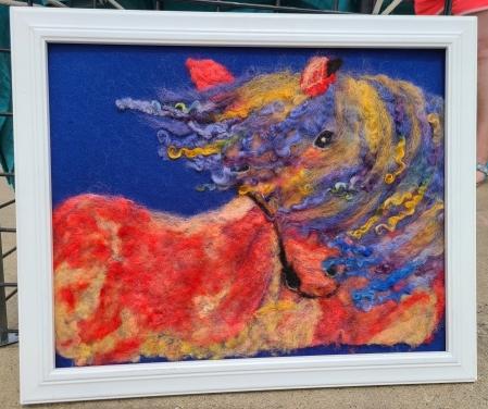 Blue Flame Wild Stallion